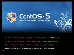 Manual de Instalacion de CentOS 5.4