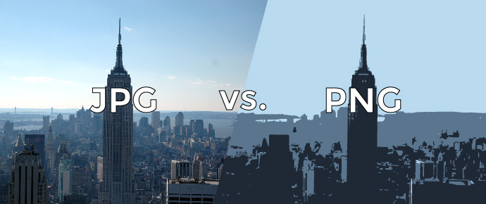 JPG y PNG. ¿Cuáles son sus diferencias y en que casos que formato usar?